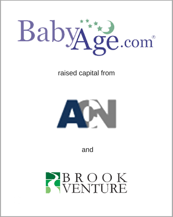 BabyAge.com raised capital from ACN & Brook Venture