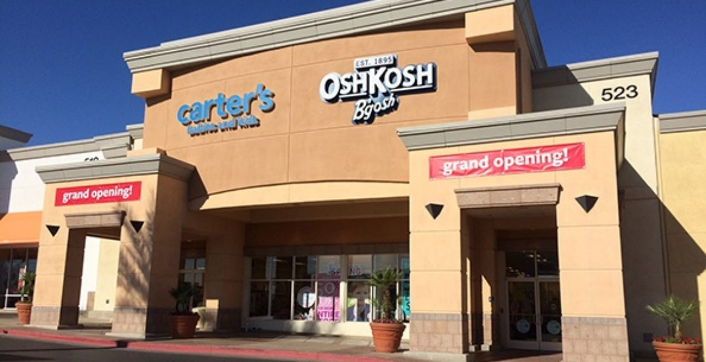 Amerex acquired licenses of Carter's, Oshkosh B'gosh, and Samara