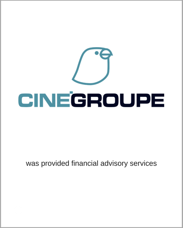 CINEGROUP received Financial Advisory Services
