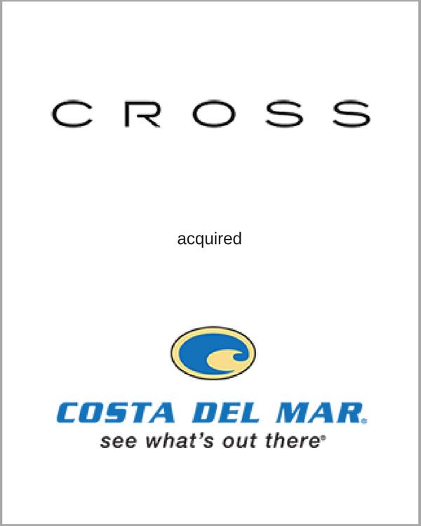 CROSS acquired COSTA DEL MAR