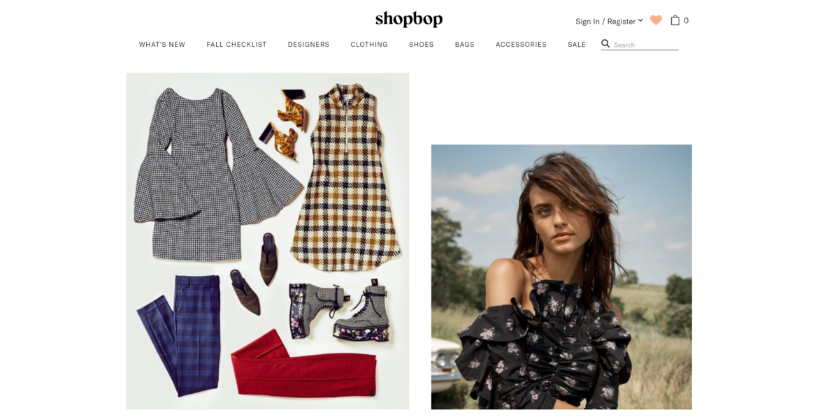 SHOPBOP was sold to Amazon.com