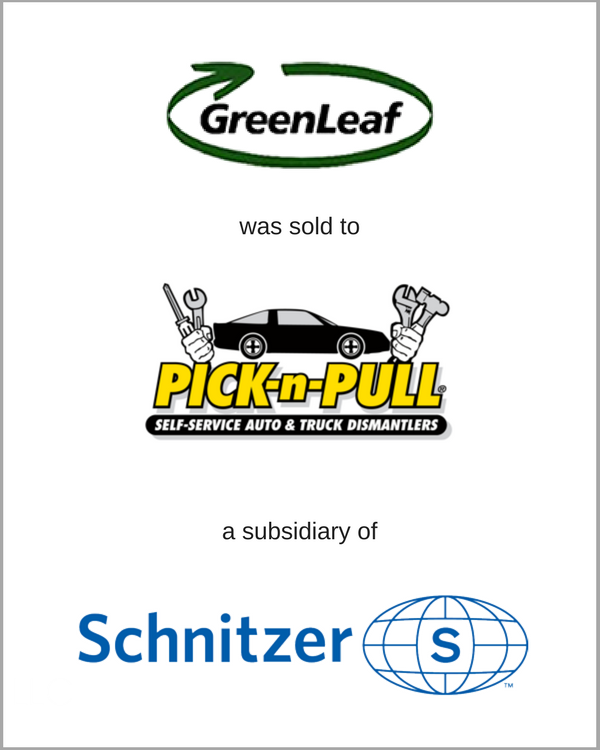 GreenLeaf was sold to Pick-n-Bull, a subsidiary of Schnitzer Steel