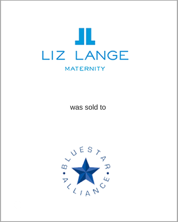 Liz Lange was sold to BlueStar Alliance