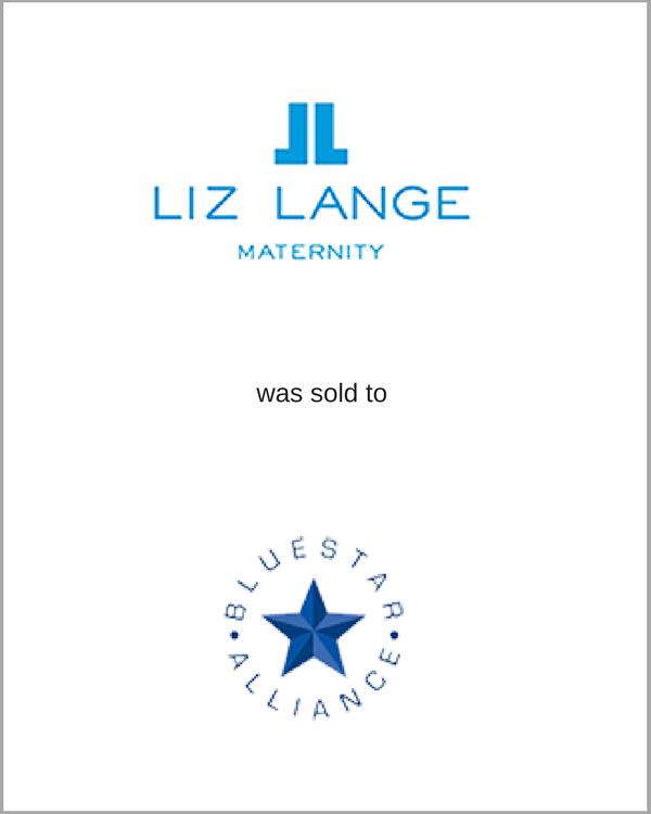 Liz Lange was sold to BlueStar Alliance