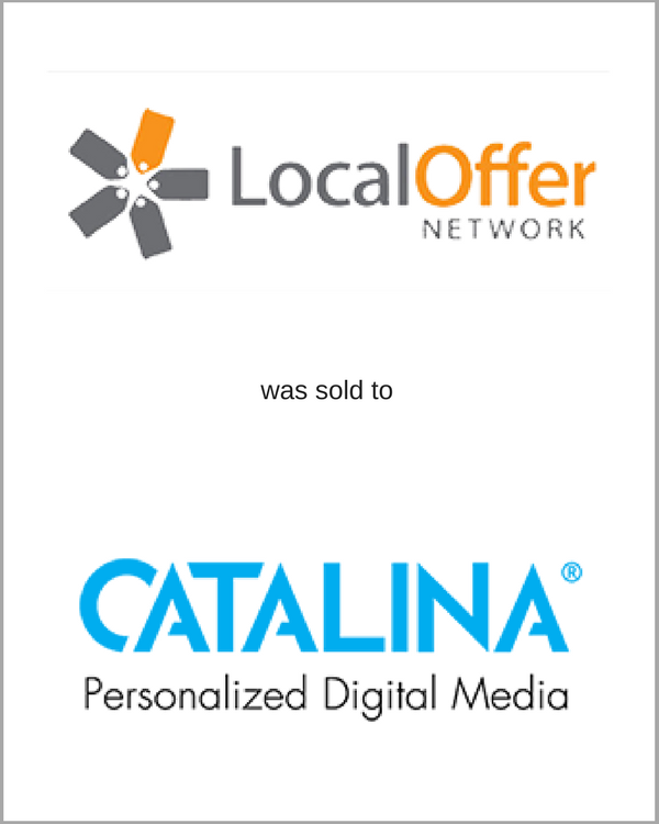 Local Offer Network was sold to CATALINA
