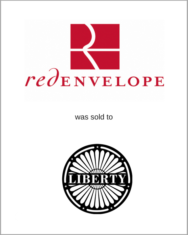 RedEnvelope was sold to Liberty Media