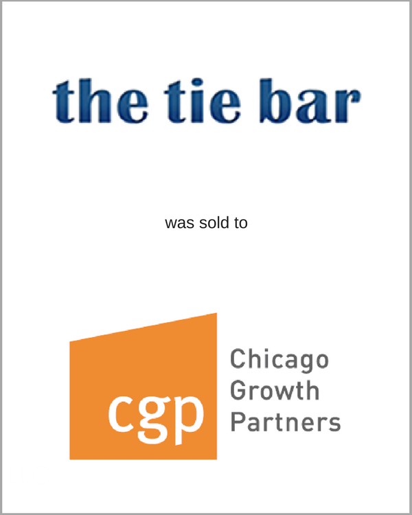 The Tie Bar was sold to Chicago Growth Partners