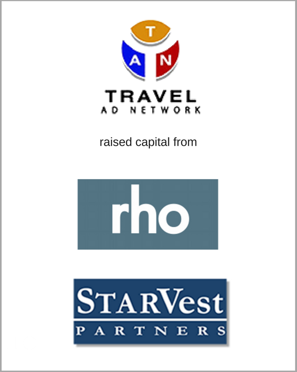 Travel Ad Network raised capital from StarVest & RHO