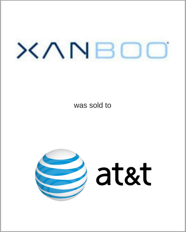 XANBOO was sold to AT&T