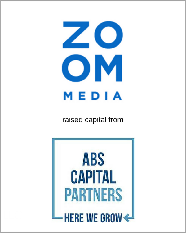 ZOOM Media raised capital from ABC Capital