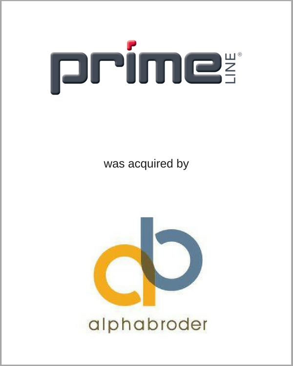 Primeline.com was acquired by alphabroder
