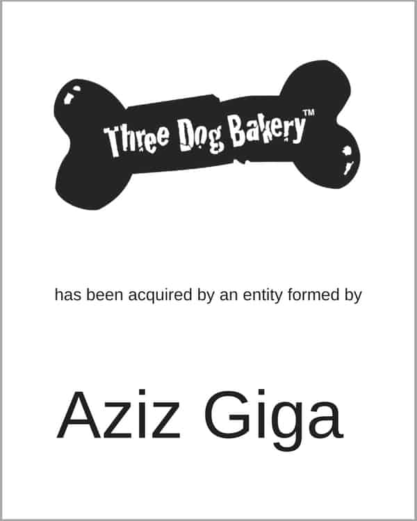 Three Dog Bakery acquired by Aziz Giga