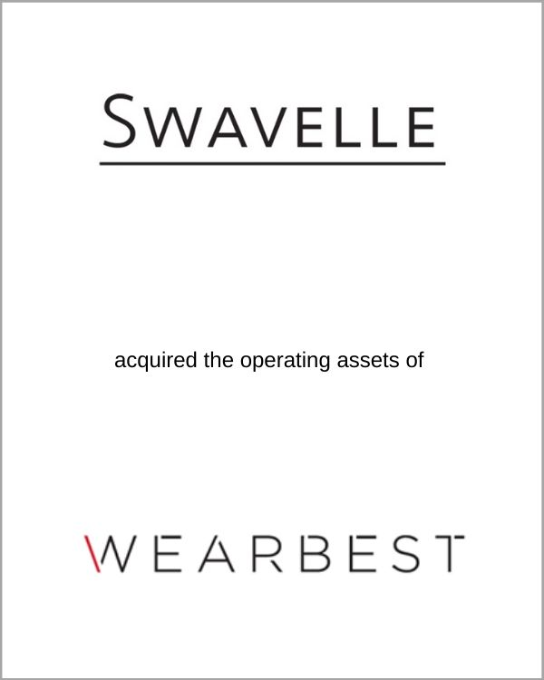 Swavelle acquired the operating assets of Wearbest